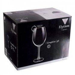 Vicrila ELYTIUM GRAPHITE Бокал набор 6х250 мл V102640/1