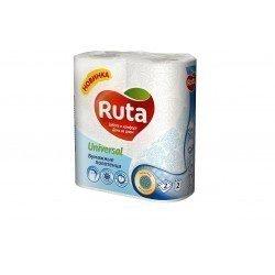 Ruta10 Universal Полотенца бумажные 2 слоя  упаковка 2 рулона R74073