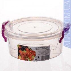 AL-PLASTIK Контейнер пищевой круглый 600 мл 356