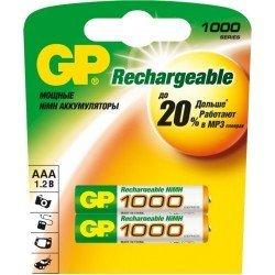 GP Аккумулятор  AAA 1000 mAh Ni-MH минипальчик - 079061