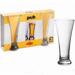 Pasabahce Pub  Бокал пивной набор 3Х320 мл. - 42199-3