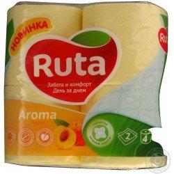RUTA Туалетная бумага упаковка 4 рулона  Ruta5-1