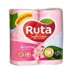 RUTA Туалетная бумага упаковка 4 рулона  Ruta5-3