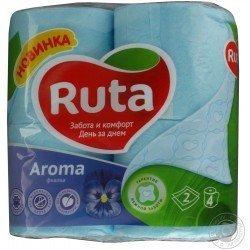 RUTA Туалетная бумага упаковка 4 рулона  Ruta5-4