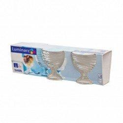 Luminarc Swirl Креманка набор 3х 300мл. H5068