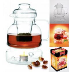 Termisil MAJA Чайник с фильтром и подогревом от свечи 1,5л. CDSP150F