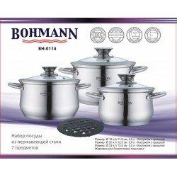 BOHMANN Набор посуды 7 предметов BH 0114