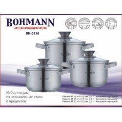 BOHMANN Набор посуды 6 предметов BH 0516
