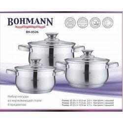 BOHMANN Набор посуды 6 предметов - BH 0526