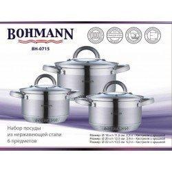 BOHMANN Набор посуды 6 предметов BH 0715