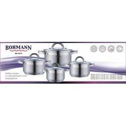 BOHMANN Набор посуды 8 предметов BH 0716