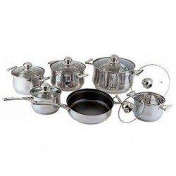 BOHMANN Набор посуды 12 предметов BH1231 STF