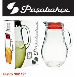 Pasabahce BISTRO  Кувшин с крышкой красной1850 мл. - 80119