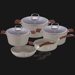 BerlingerHaus Stone Набор посуды 10 предметов  BH-1168
