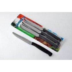 Svanera Jo Нож с зубчиками стейк 11,5 см черный SV9755N