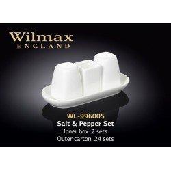Wilmax  Набор для специй соль&перец&зубочистки 4пр. - WL-996005