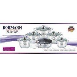 BOHMANN Набор посуды 12pcs.cookware  BH1275 N
