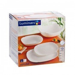 Luminarc Lotusia Сервиз столовый 19предметов - H1792