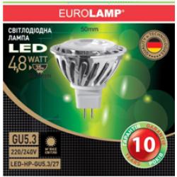 LED Лампа MR16 4.8W GU5.3 2700K/LED-HP-GU5.3/27 - 31219