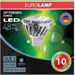 LED Лампа MR16 4.8W GU5.3 6500K/LED-HP-GU5.3/65 - 31223