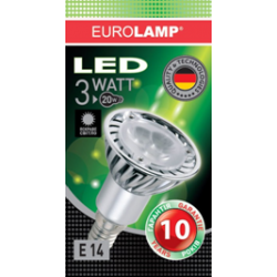 EUROLAMPA LED Reflector Лампочка R50 3W E14 - 31214