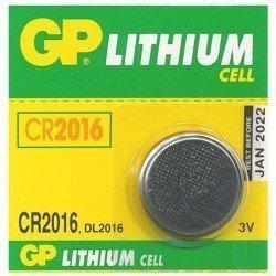 GP Батарейка  Lithium CR2016 3V, дисковая - 001123