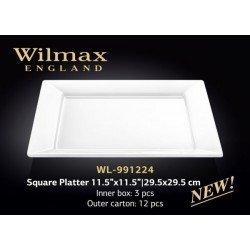 Wilmax Блюдо квадратне 29,5см WL-991224