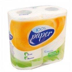 RUTA6 Paper Туалетная бумага 2х слойная упаковка 4 рулона R74399
