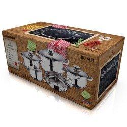 BLAUMANN Jumbo Набор посуды 10 предметов BL1637