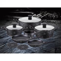 PETERHOF STONE MONTAGNA Набор посуды 11 предметов - MK-1017
