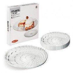 PAŞABAHÇE ATLANTIS Набор для торта 7 предметов - 97935