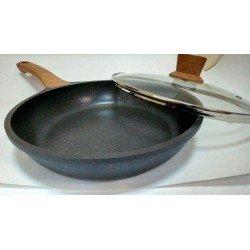 VISSNER Сковородка с крышкой 28 см. VS 7700-28