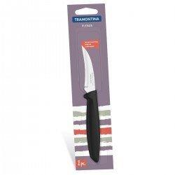 TRAMONTINA PLENUS black Нож шкуросъемный 76мм 23419/103
