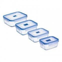LUMINARC PURE BOX ACTIVE Набор контейнеров 4 шт.  N2620