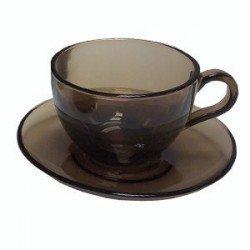 Pasabahce Basic Bronze Набор чайный 12 предметов 240мл. -  97948