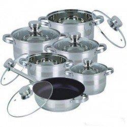BOHMANN Набор посуды 12 предметов BH 1232 MRB