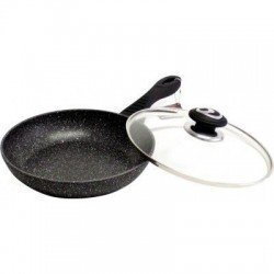 VISSNER Сковородка с крышкой 24 см. - VS 7560-24