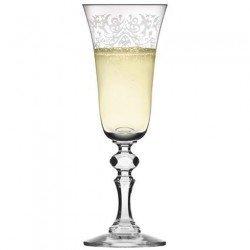 KROSNO PRESTIGE KRISTA DECO Бокал шампанское150мл. F576030015011120