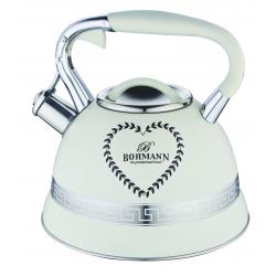 BOHMANN Чайник со свистком металлический 3,0 Liter BH 9911