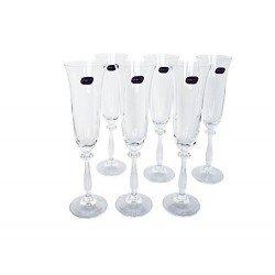 BOHEMIA Angela Бокал шампанское набор 6 х190мл.  b40600/190