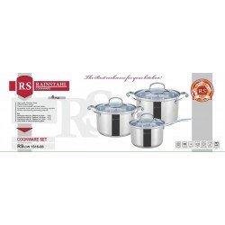 PETERHOF Набор посуды 6 предметов RS 1616-06