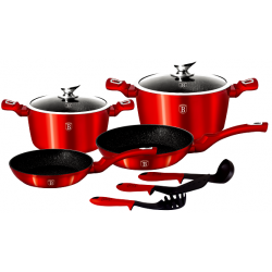 BerlingerHaus Metallic Набор посуды 9 предметов BH-1228 N