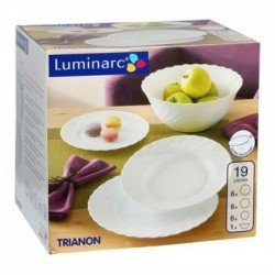 LUMINARC TRIANON Сервиз столовый 19 предметов - 00144
