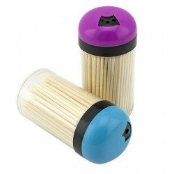 Зубочистки деревяные набор150шт. - 075