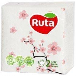 Ruta Double Luxe Салфетка 2 х слойная Сакура 40 листов Ruta9