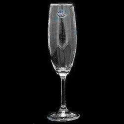 Bohemia Lara Бокал  шампанськое набор 6х 220 мм. - 40415/220