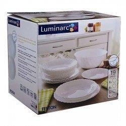 Luminarc Feston Сервиз столовый 19пр 14977