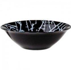 Luminarc Dripping Black Салатник большой 27см G9671