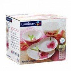Luminarc Water Color Сервиз столовый-19пр.E  N8535
