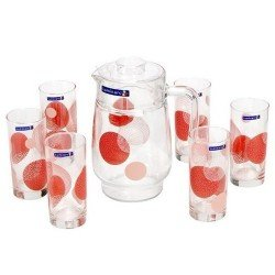 LUMINARC CONSTELLATION RED Набор для напитков 7 пр. N0801